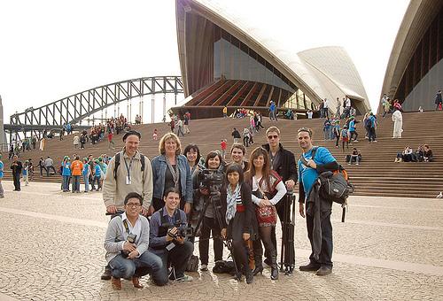 Group at Opera House