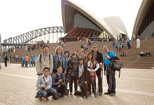 Group at Opera House