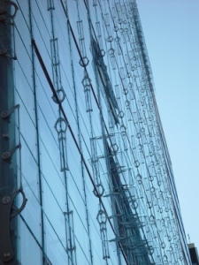 Renzo Piano building close up detail for website