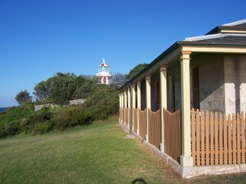 South head cottage and Hornby Lighthouse by Dane Rogers