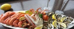 Seaafood platter